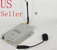 Wireless Mini CCTV Hidden Color Video Pinhole Camera SPY Cam security w/adapter