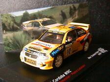 SEAT CORDOBA WRC #10 GARDEMEISTER LUKANDER NEW ZEALAND RALLY 1999 IXO 1/43