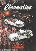 1001SCH Schuco Chromeline Prospekt 1998 Modellautos (D+GB)  brochure model cars