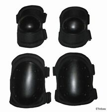 Airsoft Paintball Tactical SWAT POLICE Combat Rubber Knee Elbow Protection Pads