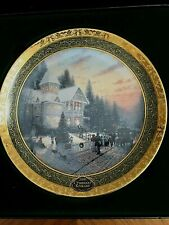 Thomas Kinkade's 2000 Victorian Christmas / Bradford Collectors Plate