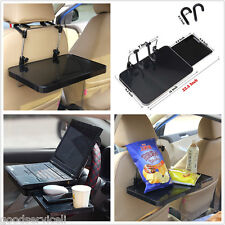 Car Seat Tray Table Desk Mount with Drawer for Tablet PC Laptops Book Universal