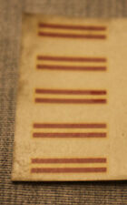 (h7/46) 5x ORIGINAL DÉCALCOMANIE CHEMINÉE RAYURES 3318 RHEINGOLD TOP ERSATZTEILE