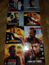 Bruce Willis LASERDISC PAL & NTSC Die Hard, Armagedon Prix valable pour un titre