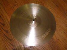 "16"" Sabian Neil Peart Signature Paragon drum set Crash Cymbal rush"