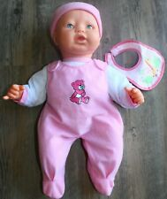 Baby doll 17 in. Girl Doll Interactive Cries Real Tears, crying sound, talks