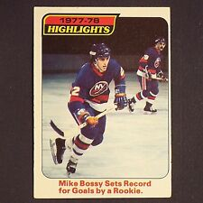MIKE BOSSY  RC   1978/79 OPeeChee #1  New York Islanders  HOF  Rookie