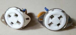YAESU FL-2100F Amplifier Ceramic Base Tubes part Used