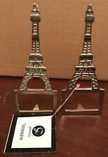 Garvin Eifel Tower Paris Napkin Ring Holders Set Of Two