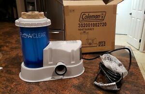 NEW 2021 Coleman Flowclear Pump Bestway #90473E Above Ground Pool pump w Filter