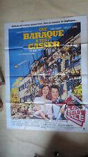 AFFICHE CINEMA 160 x 120 UNE BARAQUE A TOUS CASSER TOM HAWKS