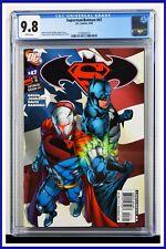 Superman Batman #47 CGC Graded 9.8 DC June 2008 White Pages Comic Book