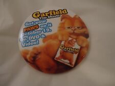 Garfield the Movie Promotional Pin Button Pinback