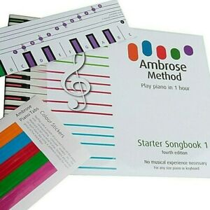 Piano Beginners Book, Learn to Play Piano Keyboard in 1 hour, 32 Page Music book