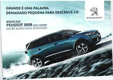 PEUGEOT 5008 CAR ADVERTISING POSTCARD publicite voiture