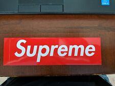 2 Supreme Box-Logo Red Stickers 100% Guaranteed Authentic