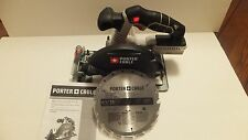 "NEW Porter-Cable 20V 20 Volt Max PCC660 6 1/2"" Circular Saw Lithium-Ion"