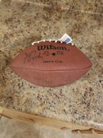 Autographed 4 signatures Wilson NFL Football  f1655 Ricky Whittle New Orleans?