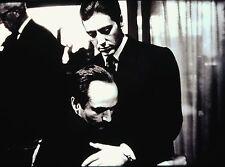 """AL PACINO & JOHN CAZALE in """"The Godfather: Part II"""" - Orig. 35mm B/W SLIDE"""