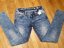 Miss Me Skinny Jeans Size 26 Low Rise JY8643S New With Tags