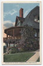 NC ~ Albemarle Park Manor ASHEVILLE North Carolina c1920 Buncombe Co Postcard