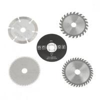 5x 85mm*15mm Hartmetall Kreis Säge Blatt Kreissägeblatt Sägeblatt für Brennholz