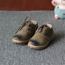 New Boy Child baby Chic khaki Polishes leather boots Shoes