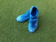 Boys Blue Nike Football Boots size 1.5
