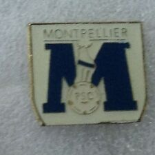 MONTPELLIER FC OF FRANCE OFFICIAL 1970'S PIN BADGE VERY GOOD CONDITION