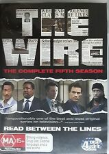 The Wire - Season 5 (DVD, 2010) Region 4