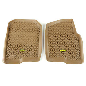 Fits Ford F150 2004-2008 Tan  Floor Liners Front  398390201