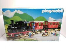 Vintage Playmobil Railroad Passenger Train Set 4002 1987 LGB CIB HTF Germany
