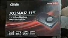 Asus Xonar U5 Gaming Series 5.1 USB Sound Card (Lightly Used)