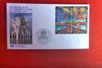 UNITED NATIONS UNPA  FIRST DAY COVER EATH SUMMIT JUNE 1992