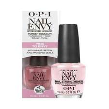 OPI NAIL ENVY PINK TO ENVY  NAIL STRENGTHENER 15ML - NEW - FREE P&P - UK