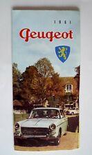 Brochure Peugeot 203 403 404 D4B -  Prospekt Catalogue Dépliant