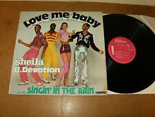 SHEILA B. DEVOTION : LOVE ME BABY - FRENCH LP 1977 - CARRERE 67 187 - disco
