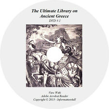 258 Books on Dvd, Ultimate Library on Ancient Greece, Greek History Athens
