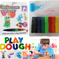 Play Dough Play Doh Modelling Set Kids Mould Tool Fun New DIY Craft Cutting Kit