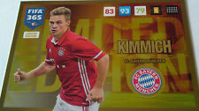 PANINI ADRENALYN XL FIFA 365 2017 UPDATE EDITION LIMITED EDITION KIMMICH