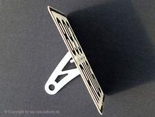 Kennzeichenhalter seitlich Peugeot Speedfight 2 / 3 Tuning  LC AC 50ccm POLIERT