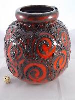 Big 70er Fat Lava Vase SCHEURICH 284-19 WGP Design Roth Space Age Ära