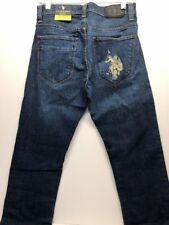 NWT U.S. Polo Assn slim Straight Medium Wash Men Jeans 30 x 32
