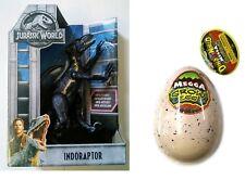 Jurassic World Fallen Kingdom Indoraptor Figure  and Dino Megga Grow egg!