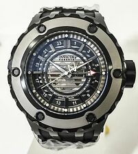Invicta 16824 Reserve Specialty Subaqua GMT Black 52mm Diver Swiss Watch New
