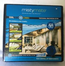 MistyMate Cool Patio 32-foot Professional Grade Misting System w/ 2 Hour Timer