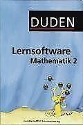 Duden Lernsoftware Mathematik 2 von Duden Paetec GmbH   Software   Zustand gut