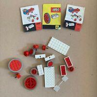LEGO Konvolut aus System Set Nr. 400/401, Räder, 1966, Retro, Vintage
