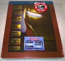 Iron Man (2008, Canada) Futureshop Exclusive Steelbook ~MUST HAVE HOLY GRAIL NEW