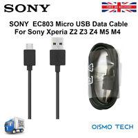 Genuine Sony EC803 Micro USB Data Cable 1Meter Length For Xperia X XA Z5 M5 Z4